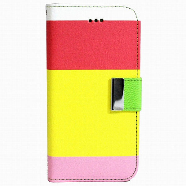 Rainbow Stand Leather Case for iPhone 6