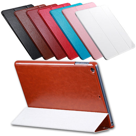 Retro Flip Leather Case for iPad Air