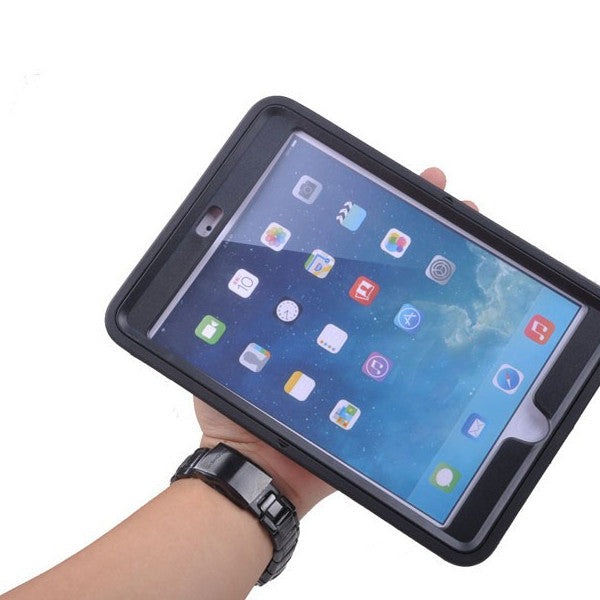 Rotatable iPad Air Case with Leather Strap