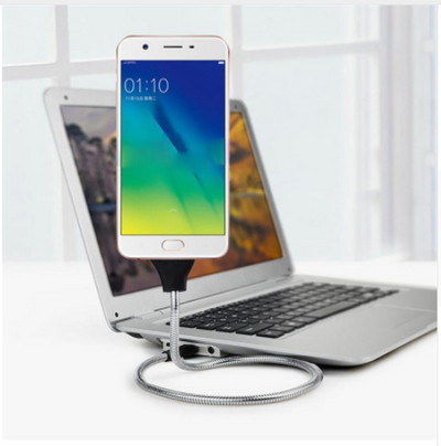 Lazy Flexible Micro USB Anti-break Charging Cable For Android Phone mount