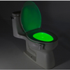 8-Color LED Sensor Motion-Activated Bathroom Toilet Light
