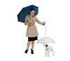 Transparent Pet Umbrella