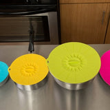 Silicone Food Storage Lids (4-Piece)