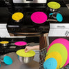 4-Pack Suction Pan Lids Food Storage Lids