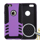 Silicone Plastic Hybrid Case for iPhone 6 Plus