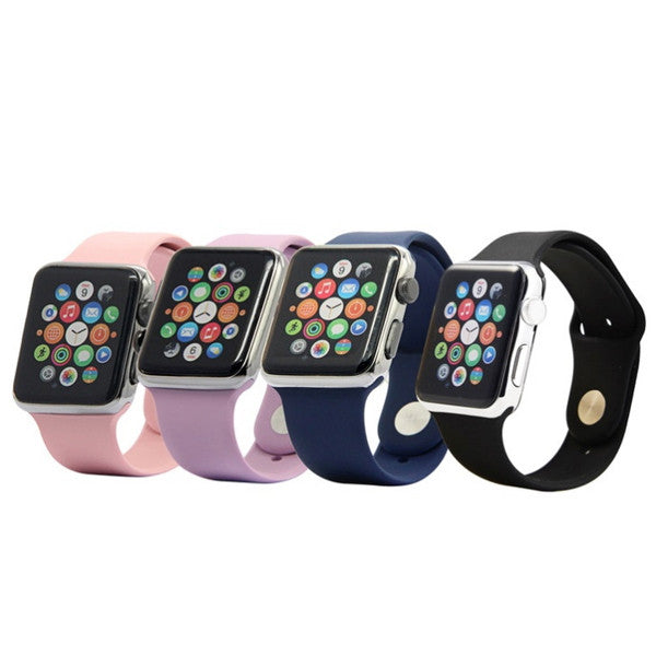 Silicone Sport Replacement Band for Apple Watch