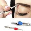 Stainless Steel Eyebrow Tweezers (3-Pack)