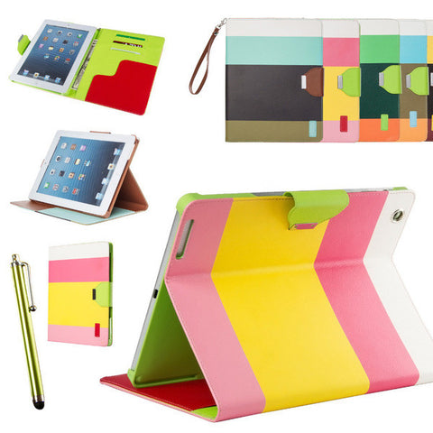 PU Leather Case /Stand for iPad Air
