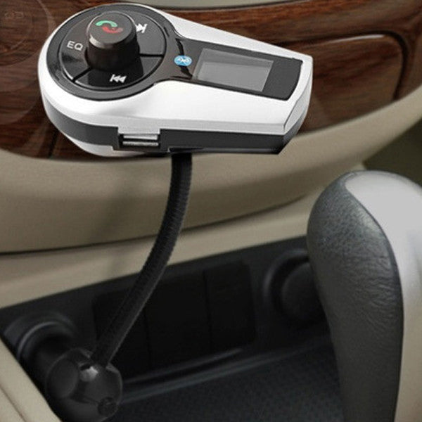 Stereo Bluetooth FM Transmitter Car Kit with Remote
