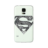 Super Man Embossed Case for Samsung S5