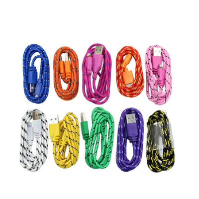 rope chargers for iphone