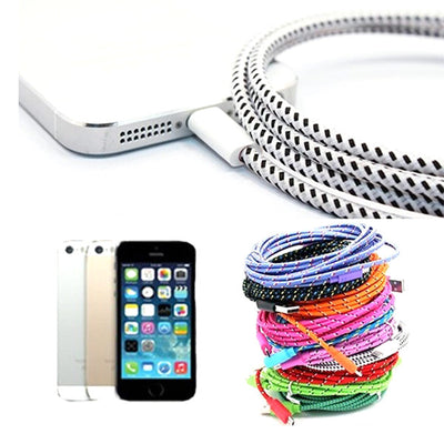 braided nylon charger iPhone
