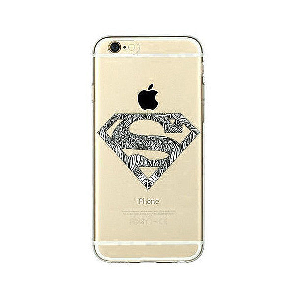 Transparent TPU Case for iPhone 6 Plus