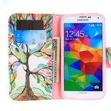 Tree Leather Case for Samsung Galaxy S5