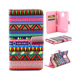 Tribe Pattern Leather Case for Samsung Note 4