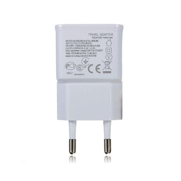 USB hub: 2 Ports USB EU Wall Charger Adapter