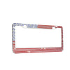 US Flag License-Plate Holder (ONLY USA)