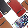 Ultra-Thin Leather Kickstand Case for iPhone 6/6S, 6+/6S+