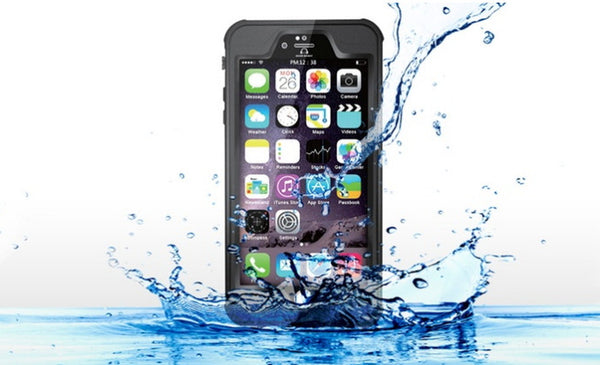 Waterproof Cases for iPhone 5, 5s, 5SE, 6, 6s, 6 Plus, and 6s Plus