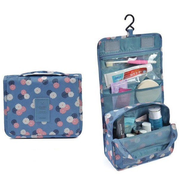 f8ce3576a29e Waterproof Travel Toiletry And Cosmetic Bag With Hanger Hook