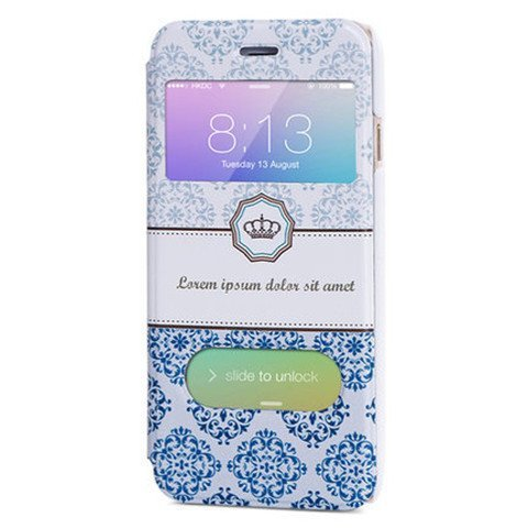 Accessories - Side Flip Leather Case For IPhone 6 Plus