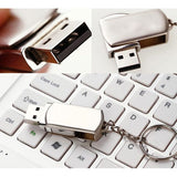 Accessories - Swivel Metal KeyChain USB Flash Drive 16GB