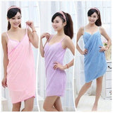 Towel Wrap Dress Bathing Robe