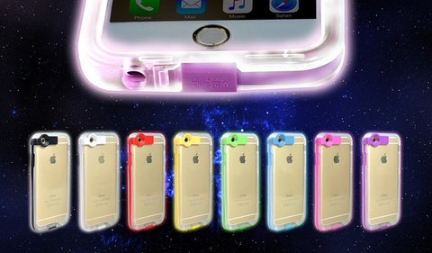 Electronics - 2-in-1 Light Up Charger Case For IPhone