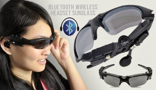 Electronics - Bluetooth Wireless Headset Sunglasses