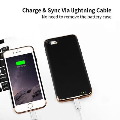 3.8 V 2300 MAH Charging Case For iPhone 7