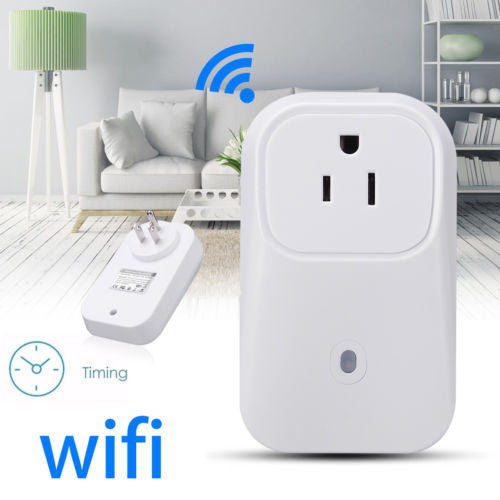 WiFi Controlled SmartSwitch Timer Power Socket For Home Appliances/Gadgets