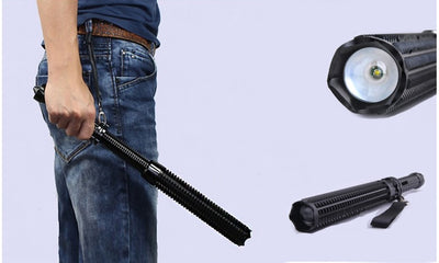 "18"" Telescoping Powerful Baton LED Flashlight"