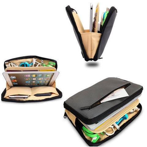Cushioned Gadget/Toiletries / Electronics Organizer Bag