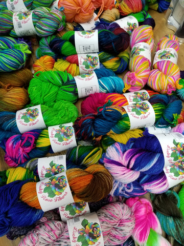 Lucky Rose yarn