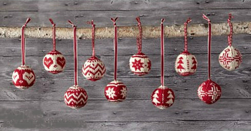 Class: Knit an Ornament in 2 Colors
