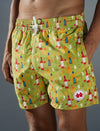 Sunset Sessions Swim Trunks (Mens) : Lime