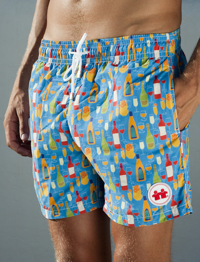 Sunset Sessions Swim Trunks (Mens) : Royal