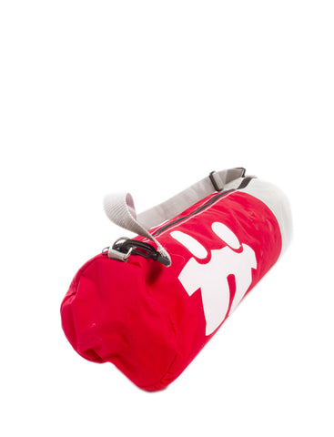 Yoga Bag - Nylon (Red/White/Grey)