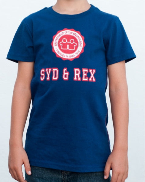 Collegiate T-Shirt (Boys) : Navy / Red / White