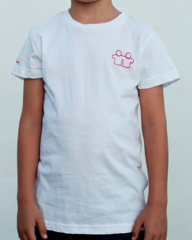 Statement T-Shirt (Boys) : White / Red