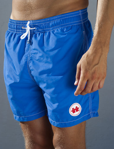 Solid Rock Swim Trunks (Mens) : Royal