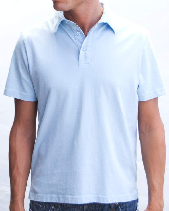 Ibizentials Polo Shirt (Mens) : Lt Blue