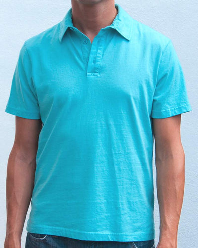 Ibizentials Polo Shirt (Mens) : Turquoise