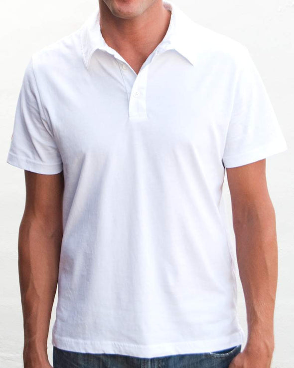 Ibizentials Polo Shirt (Mens) : White