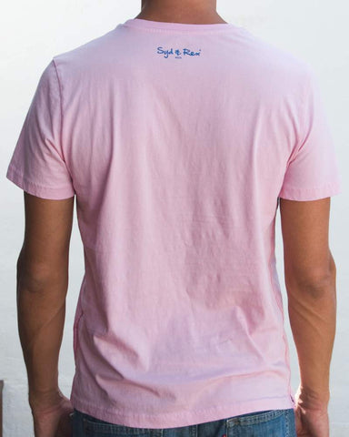 Brotherhood T-Shirt (Mens) : Pink / Denim