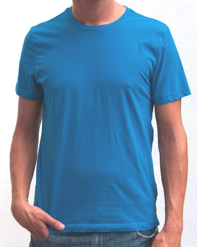Ibizentials Crew T Shirt (Mens) : Denim