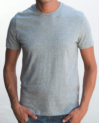 Ibizentials Crew T Shirt (Mens) : Grey Marl