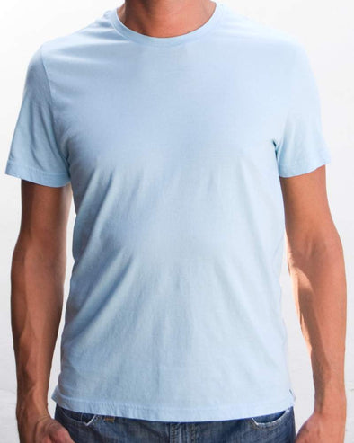 Ibizentials Crew T Shirt (Mens) : Lt Blue