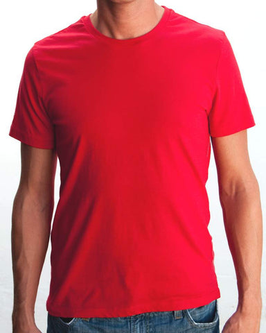 Ibizentials Crew T Shirt (Mens) : Red