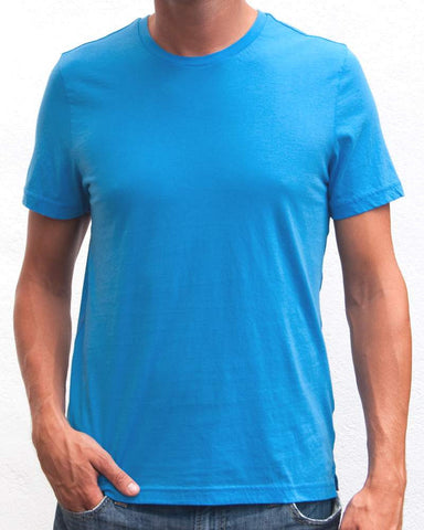 Ibizentials Crew T Shirt (Mens) : Royal Blue